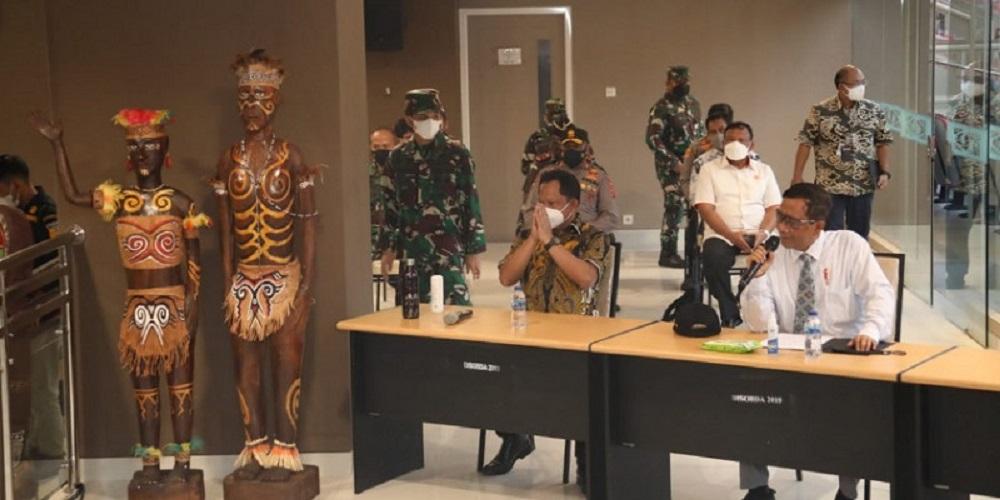 Persiapan PON Papua Sudah 95 Persen, Mahfud MD Mohon Dukungan Rakyat