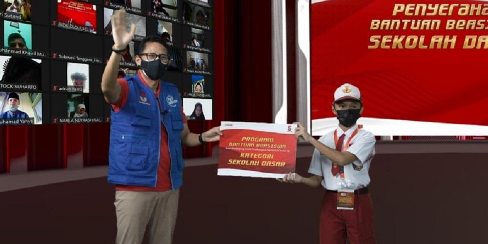 Sandiaga Uno dan Nadiem Makarim, Termasuk Pembantu Jokowi yang Hartanya Turun Drastis Selama Pandemi