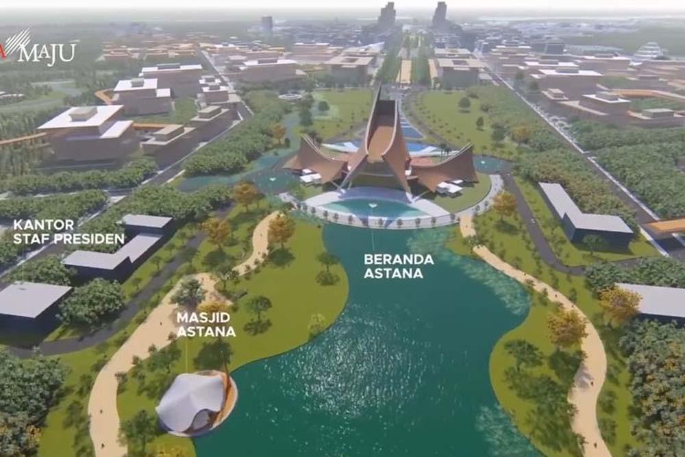 Pemerintah Mau Sewakan Gedung Kementerian untuk Pembiayaan Ibu Kota Baru