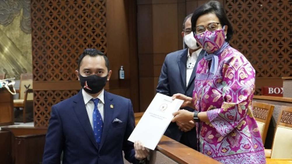 Laporan APBN 2020 Diterima DPR, Ibas Demokrat Minta Sri Mulyani Tindaklanjuti Temuan BPK