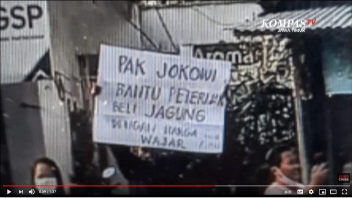 UPDATE Penangkapan Pria yang Bentangkan Poster ke Jokowi, Polda Jatim Sebut Sudah Dibebaskan
