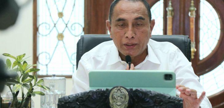 Gara-gara Petugas Salah Input Data, Mandailing Natal Masuk PPKM Level 4, Ini Respon Gubernur Sumut