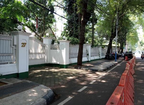 Dikabarkan Sakit, Rumah Megawati Dijaga Ketat Petugas Bersenjata