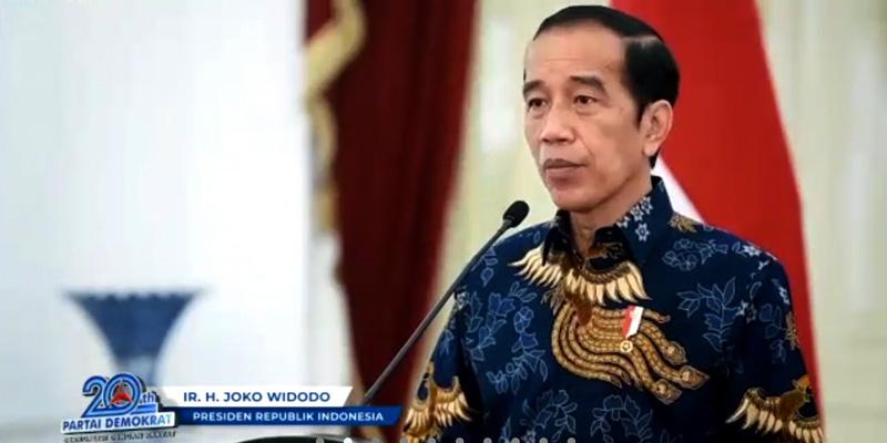 Pidato Jokowi di HUT Demokrat Secara Tersurat Mendukung AHY, Bukan Moeldoko