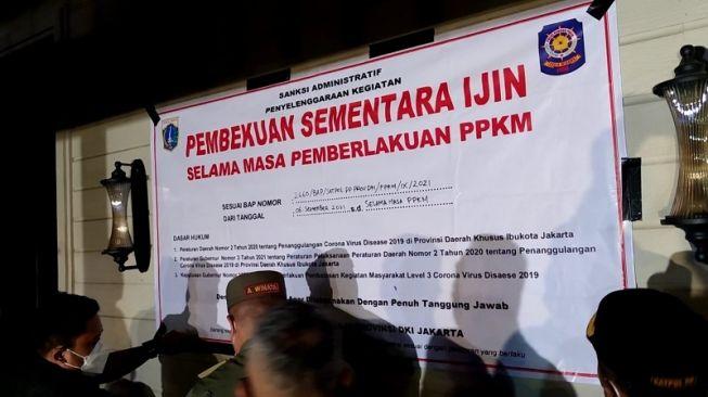Langgar PPKM Berulang Kali, PDIP Curiga Ada Pejabat Jadi Backingan Holywings Kemang