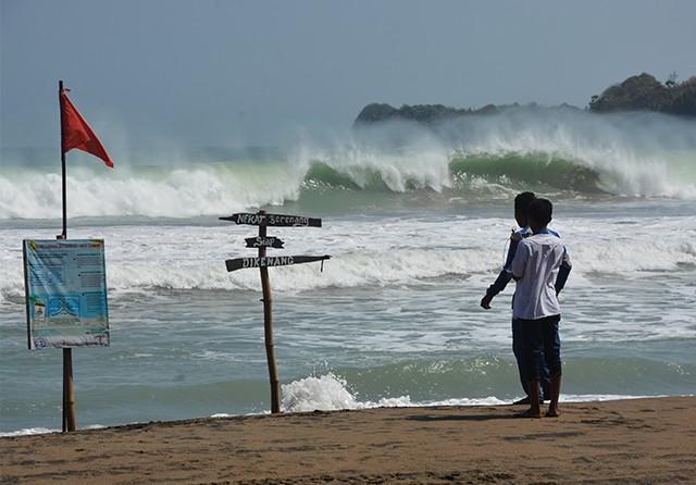 Pacitan Berpotensi Terjadi Tsunami 28 Meter, Estimasi Tiba 29 Menit