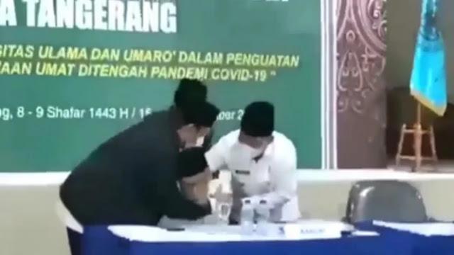 Viral Video Detik-detik KH Edi Junaedi Nawawi Meninggal Dunia