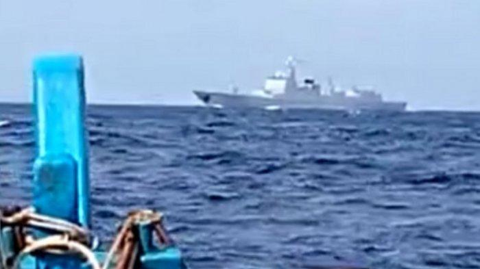 Kapal Perang China Mondar-mandir di Natuna, Said Didu: Mana Nih Peneriak NKRI Harga Mati?