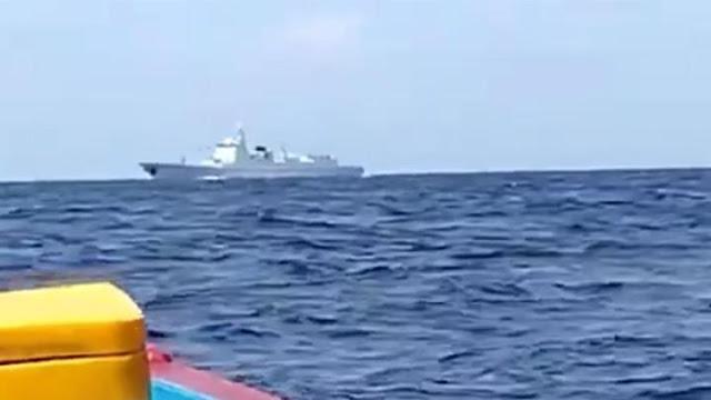 Terobos Laut Natuna, Kapal Perang China Punya 2 Rudal Mahadahsyat