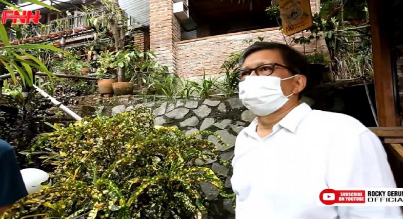 Rocky Gerung Bernapas Lega, Buldoser Sentul City Menghilang